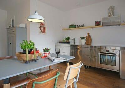 Ferienhaus Küche & Essbereich