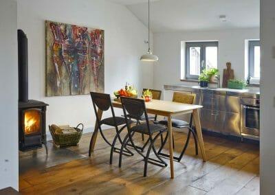 Ferienwohnung Küche mit Essbereich