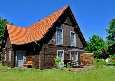 Ferienhaus 1 mit Wiesenblick